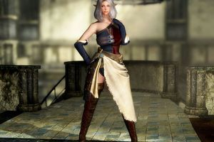 [Skyrim LE]: 自作Mod紹介 - AH Breeze Outfit