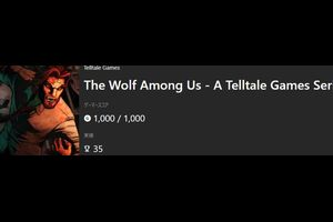 The Wolf Among Us (Windows 10) 実績コンプ