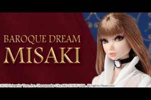 Integrity Toys社The FR Nippon Collection「Baroque Dream/Misak」サンプル展示のお知らせ