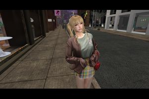 =Zenith=Sweater Coat/T-Shirt/Skirt (ALL) Maitreya/Legacy