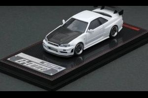 【予約受付中】(ignition model)1/64 Nismo R34 GT-R Z-tune White(2月発売)