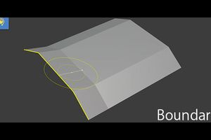 Blender - Boundary Brush