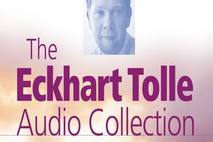 本:The Eckhart Tolle Audio Collection とマスク作りました!