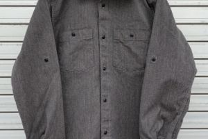 "ダリーズ ""Rail Labor...20s WORK SHIRT"""