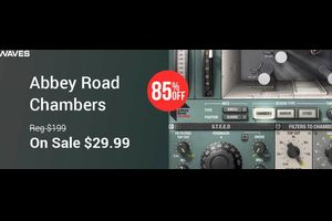 WAVESの『Abbey Road Chambers』が85%OFF