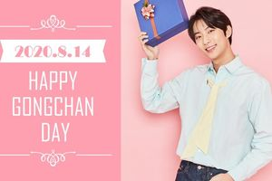 HAPPY GONGCHAN DAY